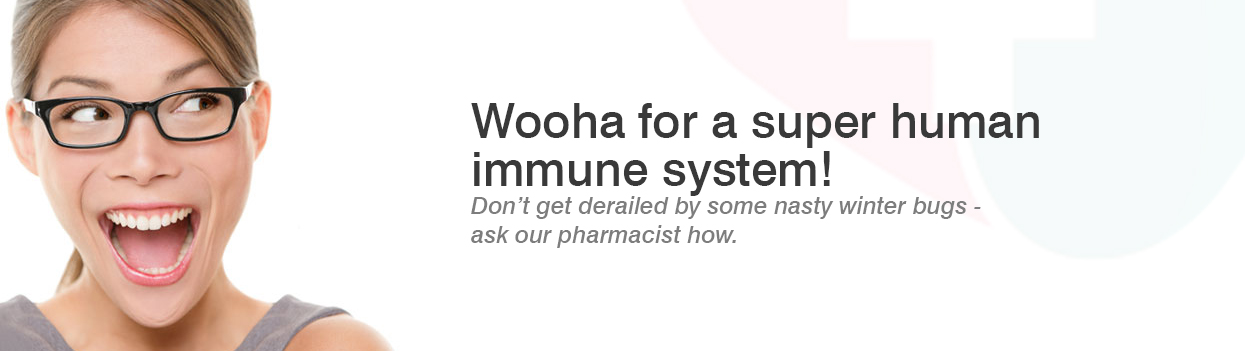 Wooha for a super human immune system